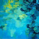 Rhapsodie in blue - Peinture à l'huile