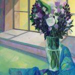 Le bouquet de l'atelier- Peinture à l'huile