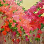 Flamboyant - Peinture à l'huile