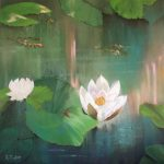 Fleur de lotus- Pastel