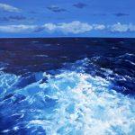 Océan II- Peinture à l'huile